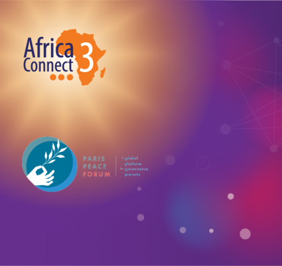 AfricaConnect3 at the Paris Peace Forum 2020