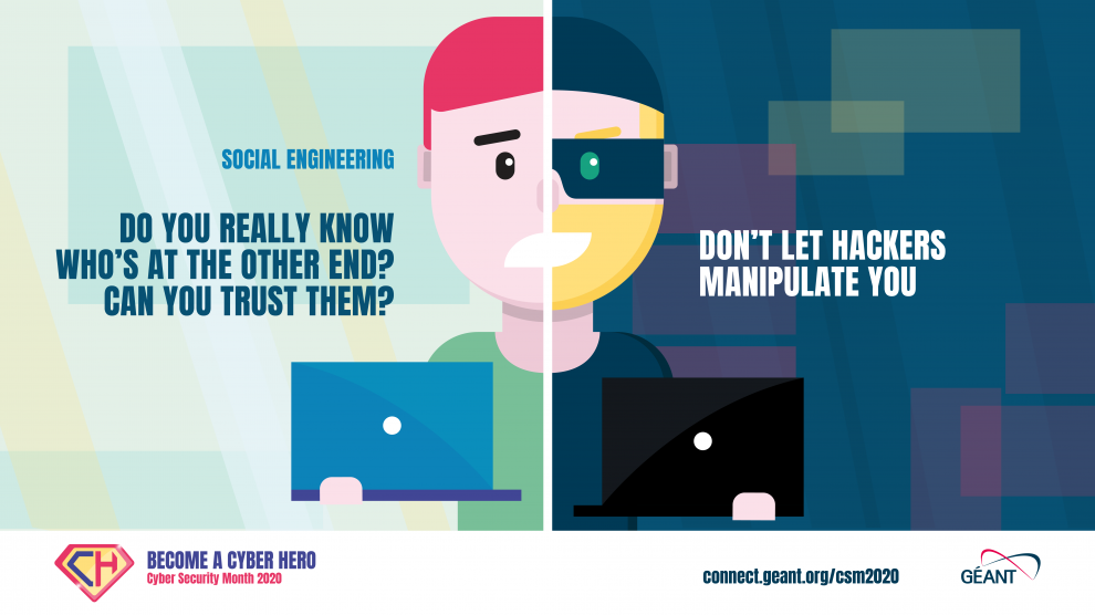 GÉANT Cybersecurity Month 2020 - Social Engineering