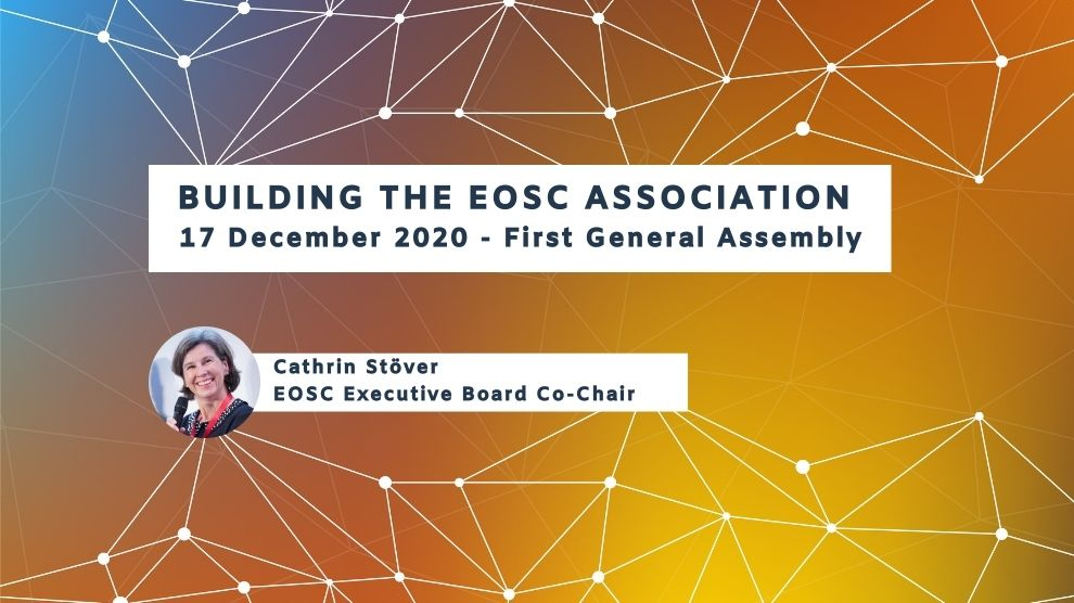 Building the EOSC Association First General Assembly on 17 December 2020