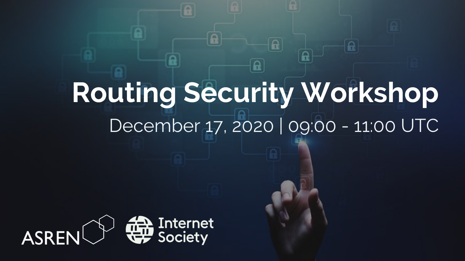ORCID, Routing Security Workshop