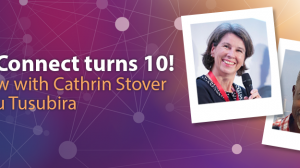 Interview with Cathrin Stover and Tusu Tusubira for AfricaConnect's 10th anniversary